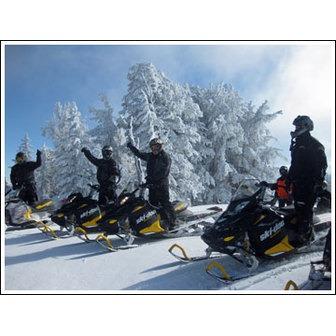 Beaver Creek Lodge Guided Snowmobile Tours
