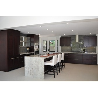 /gates-20kitchen_fair-20oaks_sacramento_contemporary_dark-20cabinets_white-20granite_waterfall-20edge_design-20showroom_47224.jpg?pictureid=12206167