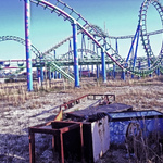 Abandoned Six Flags Amusement Park, New Orleans Louisiana