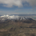 Flying Into Salt Lake City