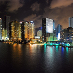 Miami Florida Summer Night