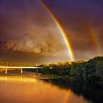 Rainbows North of Philadelphia Pa