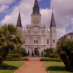 St Louis Cathedral In New Orleans, Louisiana