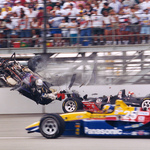 Stan Fox 1995 Indy Crash