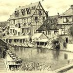 Sketch of Riverside Town