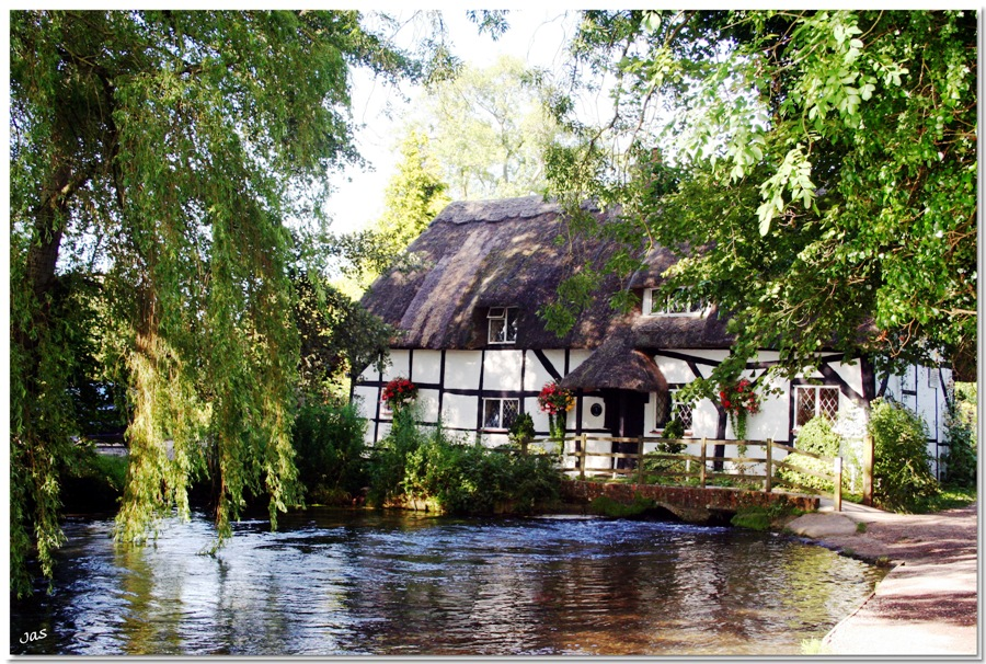 The Cottage On The River In Alresford Hampshire
