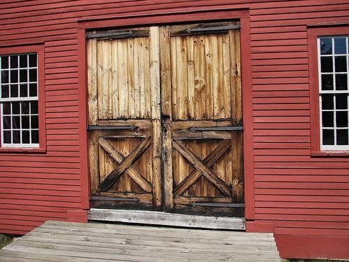 Barn doors 46699