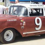 57 chevy race car
