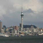 Auckland from Harbour Bridge.
