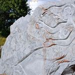 Along the River there is Rock Art