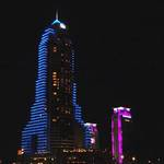 The Marina Tower at night