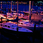 Annapolis MD Marina Night Light