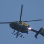 Are local Lancashire police helicopter