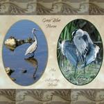Two views of Great Blue Herons