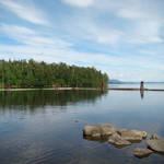 Babine Lake, BC at Red Bluff Park