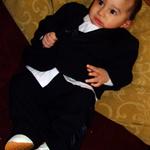 Baby in Tux