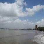 Bandra from Dadar Beach