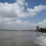 Bandra from Dadar Beach