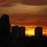 Bangkok sunset 2