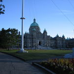 B.C. Parliament Building in Victoria