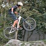 Mountain Bike - One Hand flying