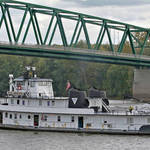 Towboat on Ohio River