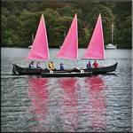Sail boat on Windermere