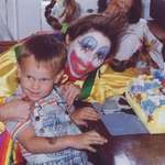 Boy & Birthday Clown
