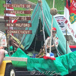 Boy Scouts troop 158 float
