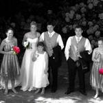 Bridal Party B&W