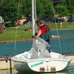 Bringing in the Sailboat