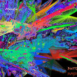 Butterfly Magic, abstract manipulated image
