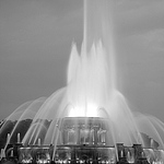 B&W Fountain