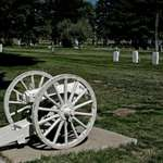 Old Gun in the Pinedale Cemetary