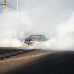 Chevy Burnout Contest