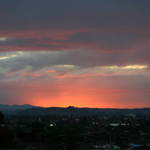 South Auckland sundown