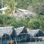 Cuban fishing village
