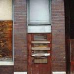 door and columns