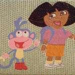 Dora & Boots Mosaic