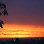 Autumn Sunset.