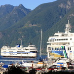 Ferries at Horseshoe Bay