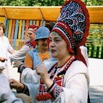 Girl in a kokoshnik