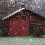 First snow of '09