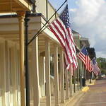 Flags in Natchitoches