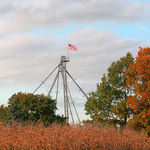 Old Glory on the Farm