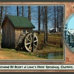 Fleetwood RV Campground at Lowe&#39;s Motor Speedway, NC