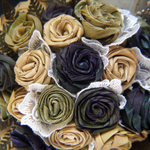 Flax Wedding bouquet