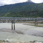 Footbridge in Skagway