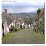 Gold Hill, Shaftesbury, England.