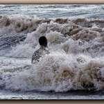 High tide at Crosby